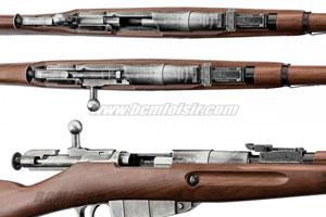 Le mécanisme en détail du fusil