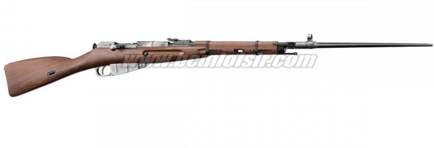 Réplique très fidèle du Mosin Nagant M44 overlord WWII